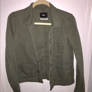 BDG URBAN OUTFITTERS Green Army Jacket Small